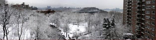 NY Winter panorama