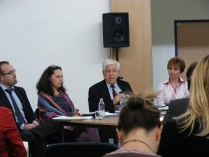 Társadalmi célú kommunikáció panelbeszélgetés 2012