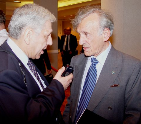 Interjú Elie Wiesel magyar származású Nobel-díjas íróval New York 2004