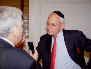 Israel Singer (Secretary General – World Jewish Congress)