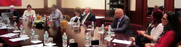 2016.05.03. A New York-i Amerikai Magyar Kereskedelmi Kamara alakuló Közgyűlésén