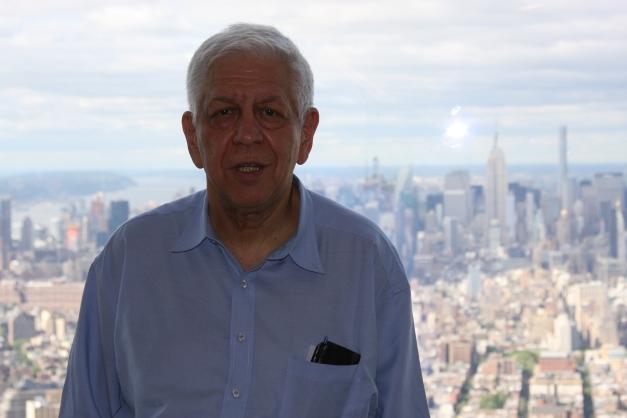 2015. Május Tudósítóként a New York-i Freedom Tower 85. emeletén.
