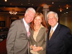 Thomas Achelis, a CERP Elnöke és Nelly Benova, a Bolgár PR Szövetség elnöke társaságában