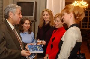 A bizalom tolmácsai – Könyvbemutató Győr 2002